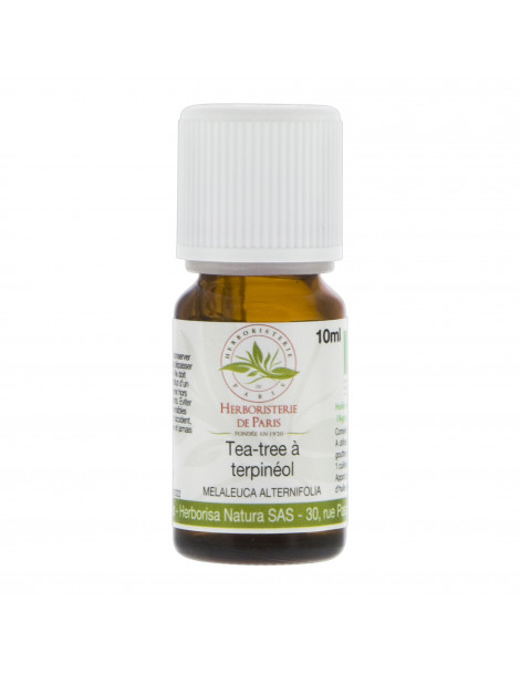 HUILE ESSENTIELLE TEA TREE TERPINÉOL BIO 10ML HERBORISTERIE DE PARIS