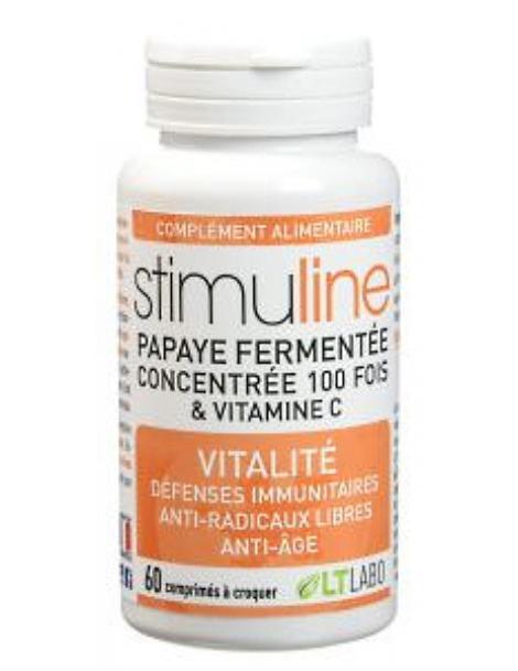 Stimuline Extra 60 comprimés Papaye fermentée + vitamine C Lt Labo