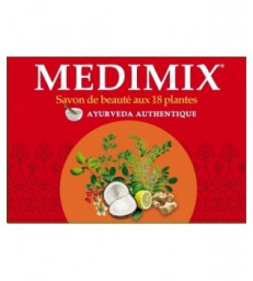 Savon Ayurvedique Medimix 18 plantes 125gr  Kerala Nature