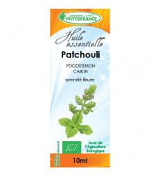 Huile essentielle de Patchouli 10 ml Phytofrance