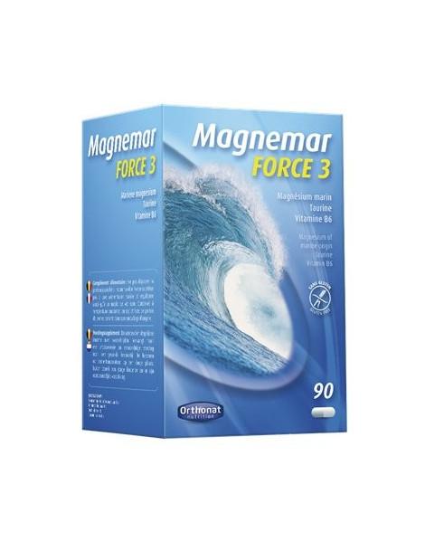 Magnemar Force 3 - 90 gélules Orthonat