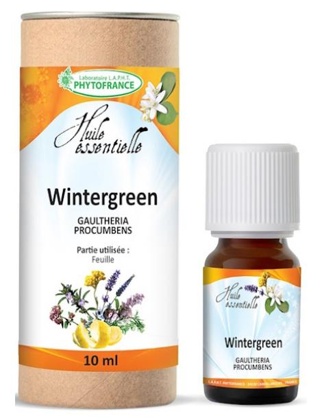 Huile essentielle de Wintergreen Bio 10 ml Phytofrance