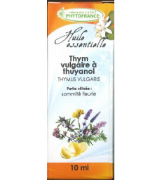 Huile essentielle de Thym Thuyanol bio 5 ml Phytofrance