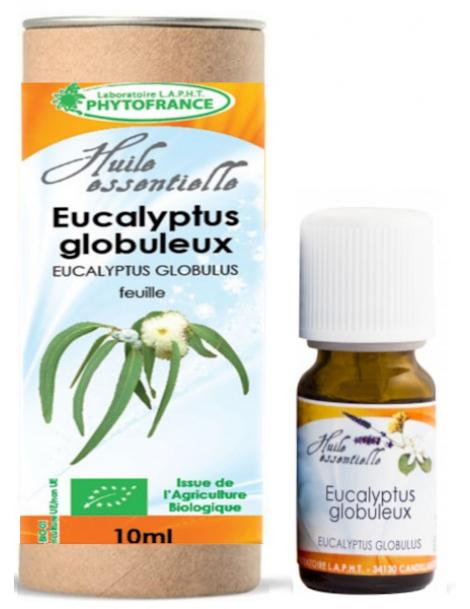 Huile essentielle Eucalyptus Globuleux Bio 10 ml Phytofrance