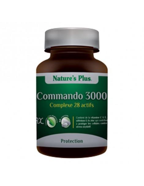 Commando 3000 - 60 comprimés Nature's Plus - complément alimentaire Herboristerie de Paris