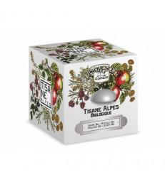 Tisane Be cube des Alpes bio 24 sachets boite métal Provence d'Antan