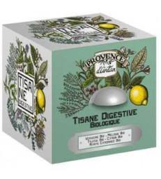 Tisane Be Cube Digestive bio 24 sachets 36 gr boite métal Provence d'Antan