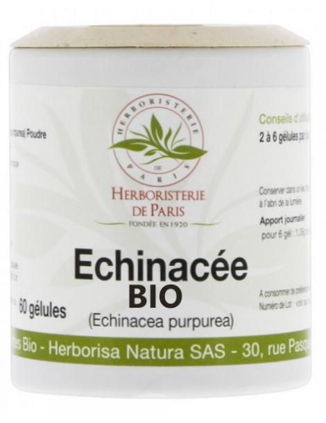Echinacée Bio 230 MG - 60 gélules - Herboristerie de Paris echinacea purpurea