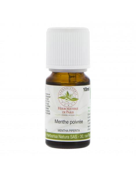 Huile essentielle Menthe Poivrée Bio 10ml Herboristerie de paris aromathérapie