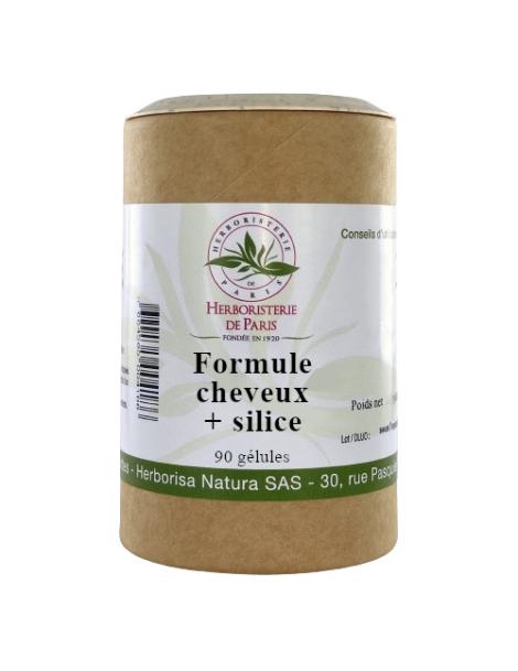 CHEVEUX + SILICE - 90 tablettes - Herboristerie de Paris