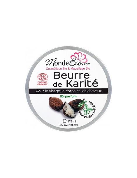 Beurre de Karité 145ml Le Monde du Bio