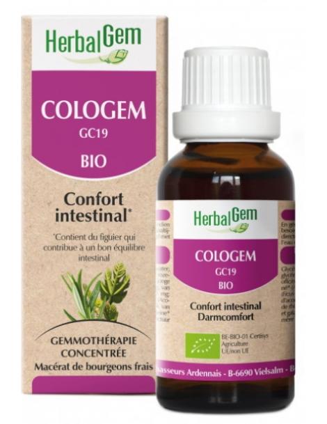 Cologem bio Flacon compte gouttes 50ml Herbalgem Gemmobase