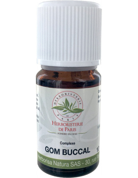 Complexe d'huiles essentielles GOM BUCCAL 10ML