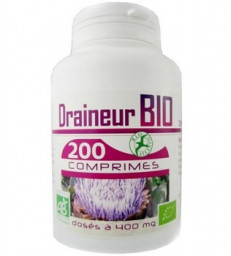 Draineur Bio 400mg 200 comprimés GPH Diffusion