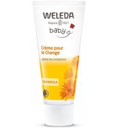 Crème pour le change bébé Calendula sans parfum 75ml Weleda