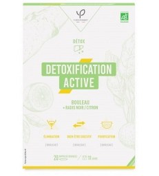 Détoxification active Radis noir Bouleau et Citron 20 ampoules de 10ml Bio Conseils