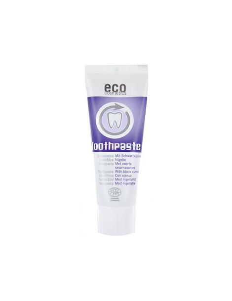 Dentifrice fraîcheur et soin à la Nigelle 75ml Eco Cosmetics échinacée Herboristerie de paris