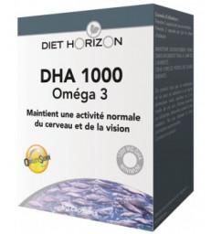 DHA 1000 Oméga 3 60 capsules Diet Horizon