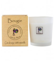 Bougie votive huiles essentielles Orange Cannelle 75g Latitude Nature