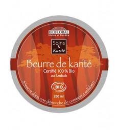 Beurre de Karité au Baobab 200ml Biofloral
