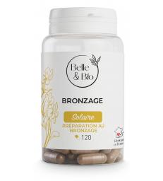 Bronzage naturel (Bixa Carotte Bourrache) 120 gélules Belle et Bio
