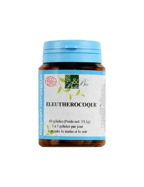 Eleutherocoque bio 60 gélules 19.1g Belle et Bio