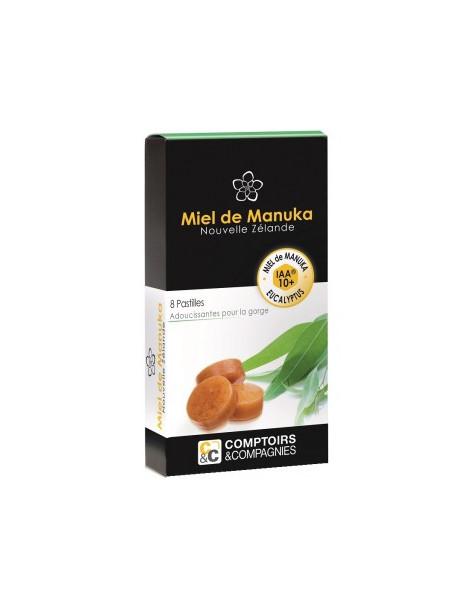 Pastilles Miel de manuka 10+ et Eucalyptus Comptoirs Et Compagnies