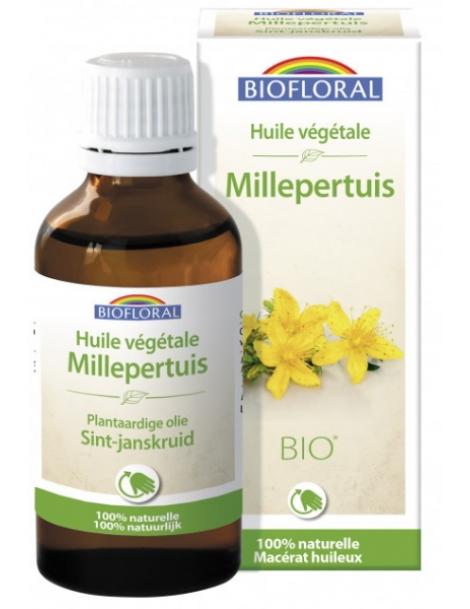Huile végétale Bio de Millepertuis 50ml Biofloral