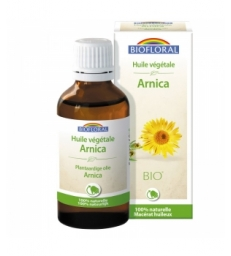 Huile végétale Bio d'Arnica 50ml Biofloral