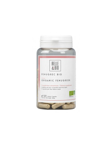 Fenugrec bio 120 gélules Belle et Bio