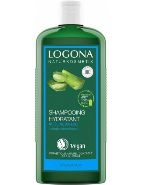 Shampooing Hydratant Aloe Vera 250 ml Logona
