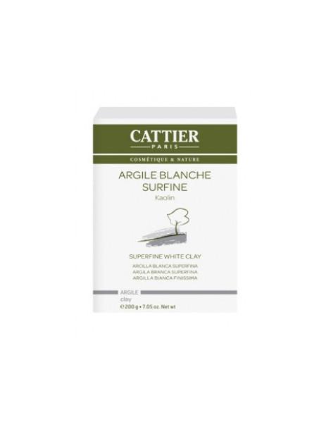 Argile Blanche Surfine Kaolin 200g Cattier