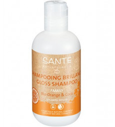 Shampoing brillance Orange et Coco 200ml Sante
