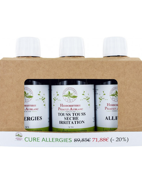Cure Allergies 600ml Herboristerie de Paris
