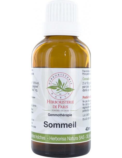 Complexe Gémmothérapie Sommeil - 40ml - Herboristerie de Paris
