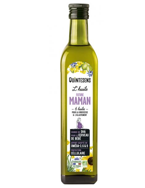 L'huile Bio des Futures Mamans 500ml Quintesens