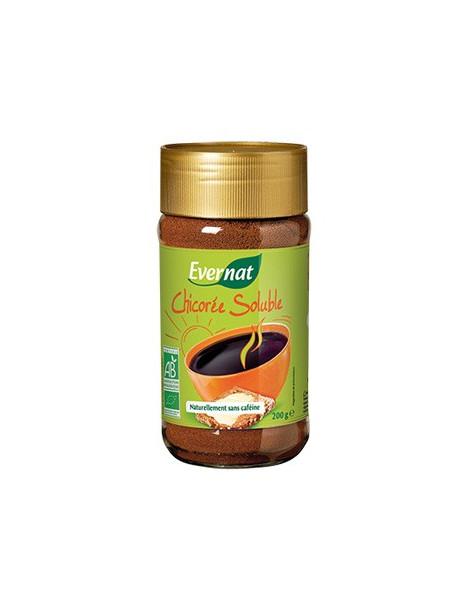 Chicorée soluble bio sans caféine 200 g Evernat