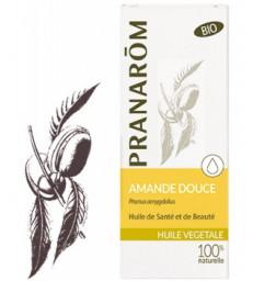 Huile végétale d'Amande douce Flacon verre 50ml Pranarôm