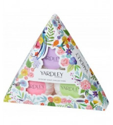 Coffret collection de savon de luxe Yardley