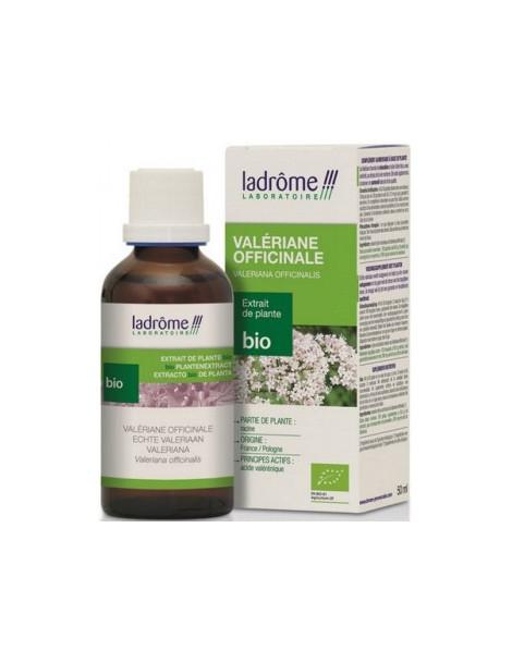 Extrait de plantes fraîches Valériane bio 50ml Ladrome