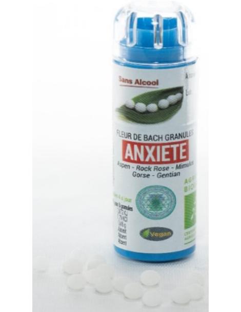 Complexe Fleurs de bach Anxiété 130 granules Macérat aqueux Kosmeo