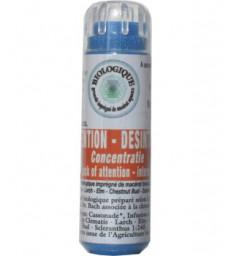 Complexe Fleurs de bach Inattention et désintérêt 130 granules Macérat aqueux Kosmeo