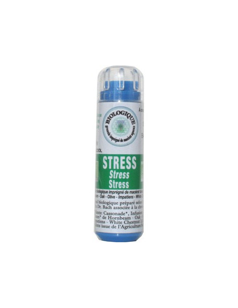 Complexe Fleurs de bach Stress 130 granules Macérat aqueux Kosmeo