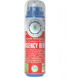 Complexe Fleurs de bach N° 39 Emergency remedy 130 granules Macérat aqueux Kosmeo