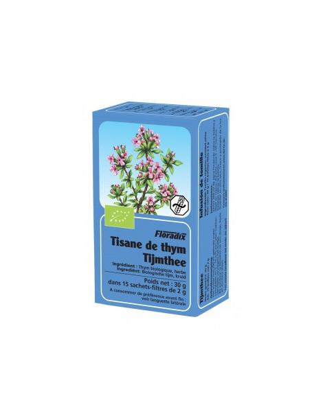 Tisane Bio thym 15 sachets Salus