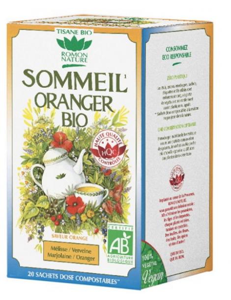 Tisane Sommeil Oranger 20 sachets 32g Romon Nature