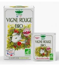 Tisane Vigne rouge bio 20 sachets 34g Romon Nature