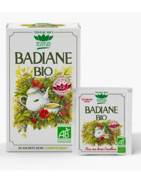 Tisane Badiane bio 36g Romon Nature