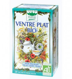 Tisane Ventre plat 20 sachets 32g Romon Nature