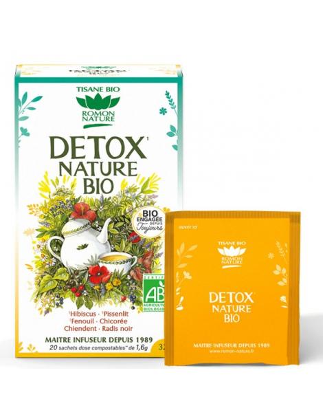 Tisane complexe Détox 20 sachets 32g Romon Nature